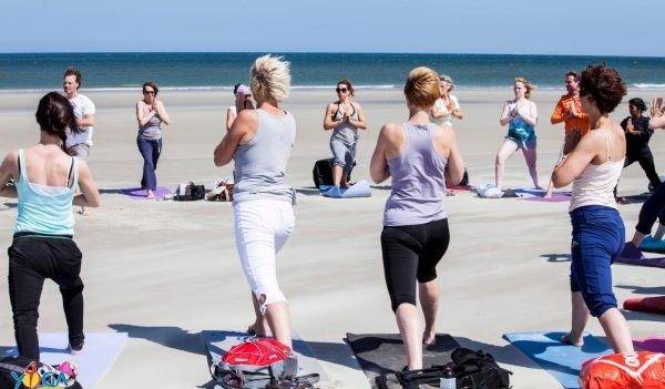 yoga vakantie aan zee