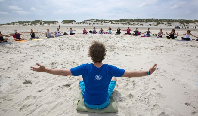 Yoga vakantie, Yoga aan zee, yoga weekend Terschelling
