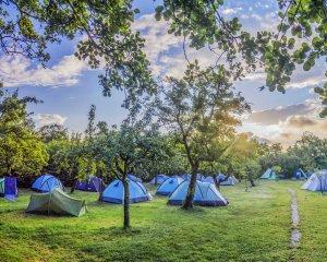 yoga vakantie op camping de kooi